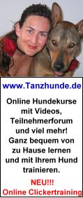 Tanzhunde - Die DogDancing-Internetseite